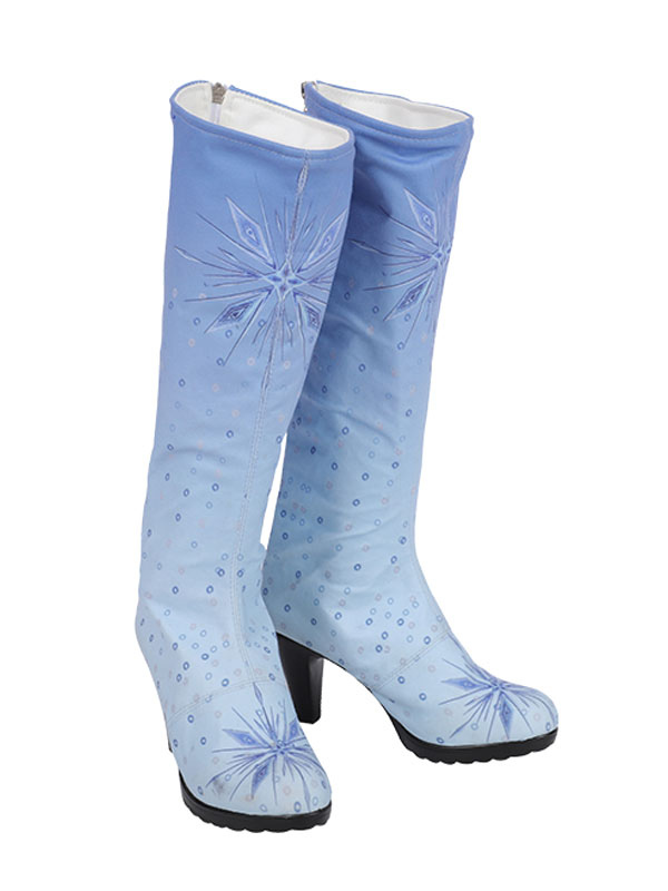 Frozen 2 Elsa Footwear Sequined Cosplay Shoes Milanoo Com