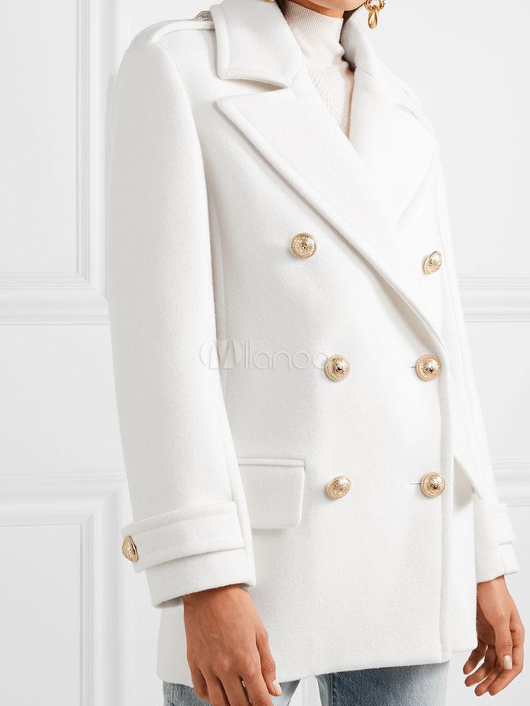 Blazer da donna elegante coreano velluto colletto con rovescio bottoni maniche lunghe