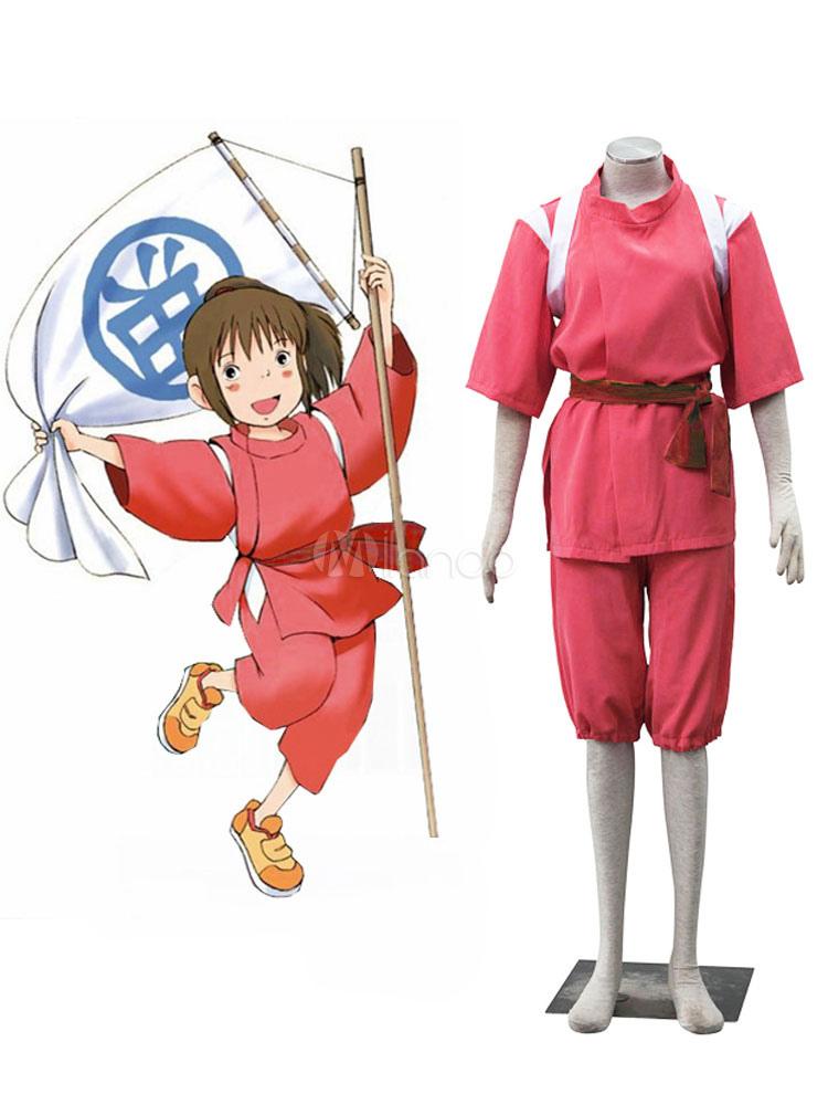 Spirited Away Cosplay Ogino Chihiro Suit Shounen Cosplay Costume Milanoo Com