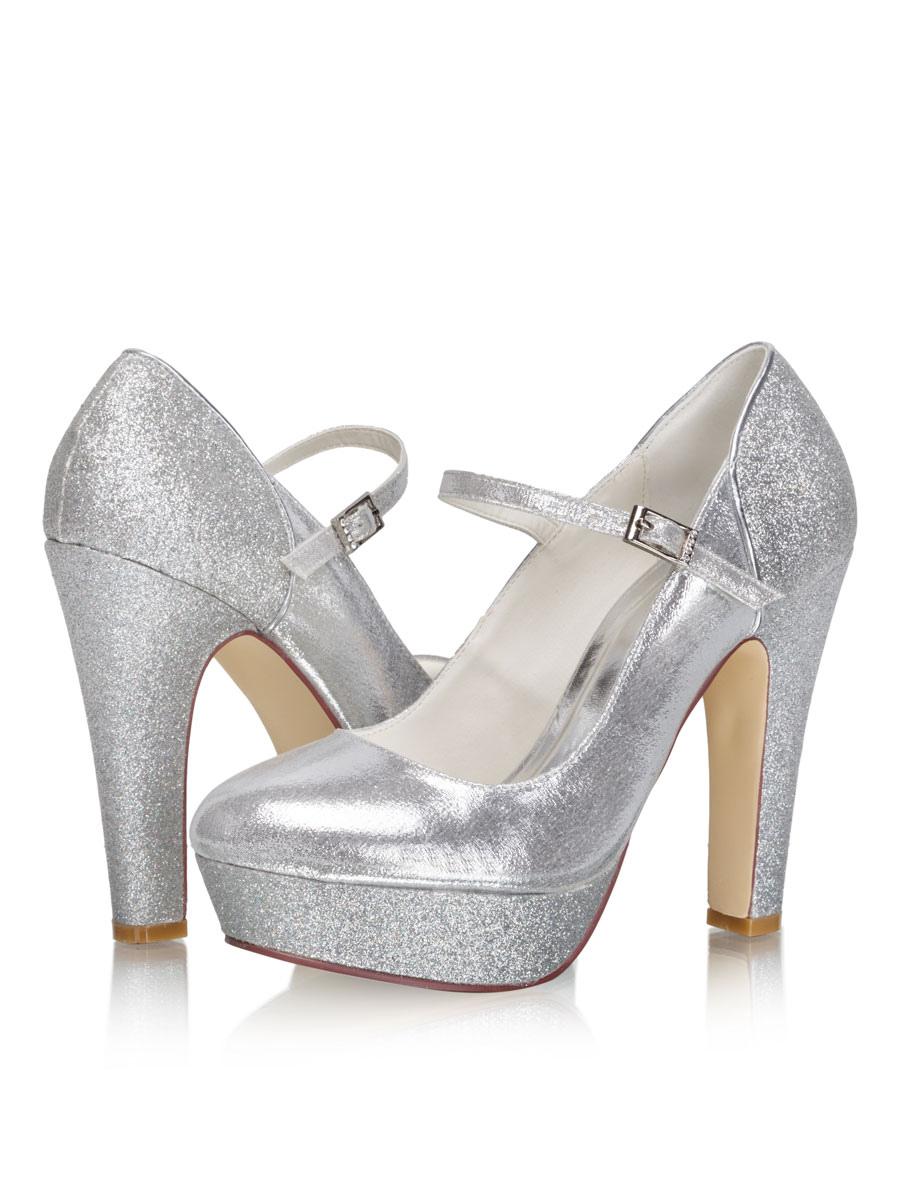 Women Mary Jane Platform High Heel