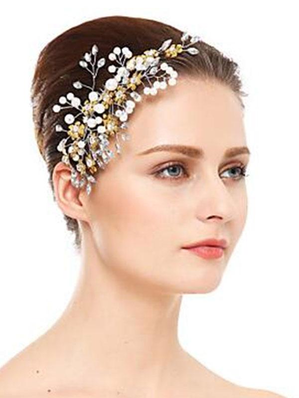 Wedding Headpieces S Hair Accessories For Bride Milanoo Com