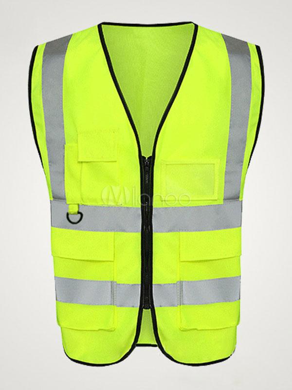 Gilet Fluorescente Riflettente Banbie ad Alta visibilit/à