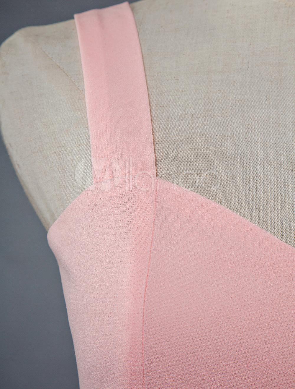 66321aae20 ... Pink Skater Dress Short Prom Dress Tulle Straps Women Flared Homecoming  Dress-No.7 ...