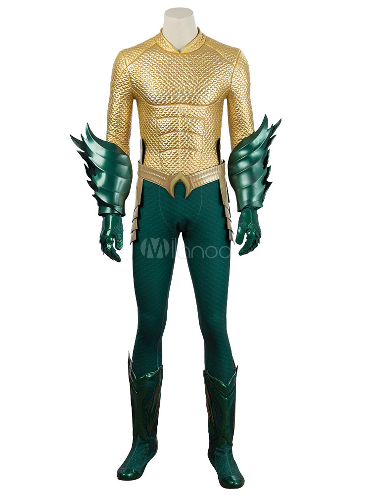 Aquaman De Curry Cinéma Arthur Costume Halloween Cosplay fg7Y6yb