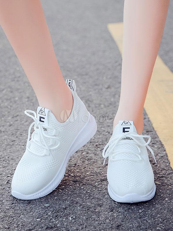 7c9c4b82b أحذية رياضية نسائية أحذية رياضية الوردي شبكة جولة اصبع القدم الدانتيل يصل  الاحذية-No.