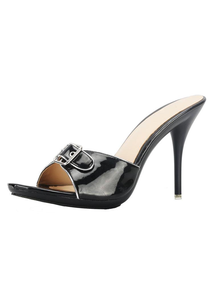 Pantofole Mgqszuvp Con Donna Tacco Da Alto Sandalo Sandali HIYeDW2E9