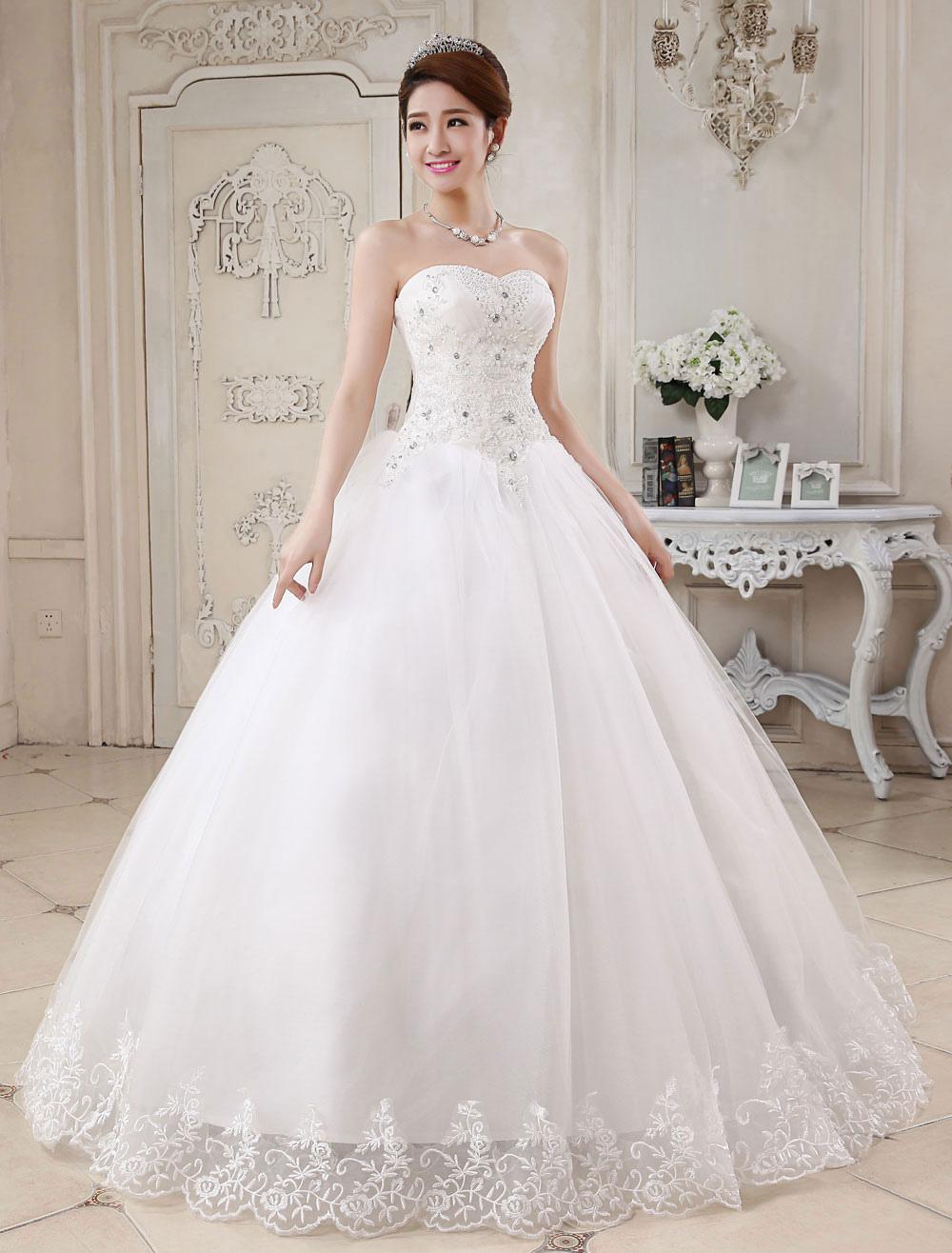 Robe de mariée princesse 2020 avec traîne
