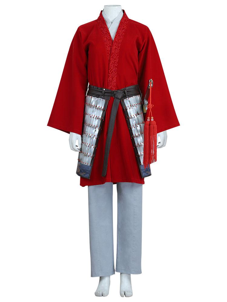 Disney Mulan 2020 Hua Mulan Cosplay Costume Outfit Milanoo Com