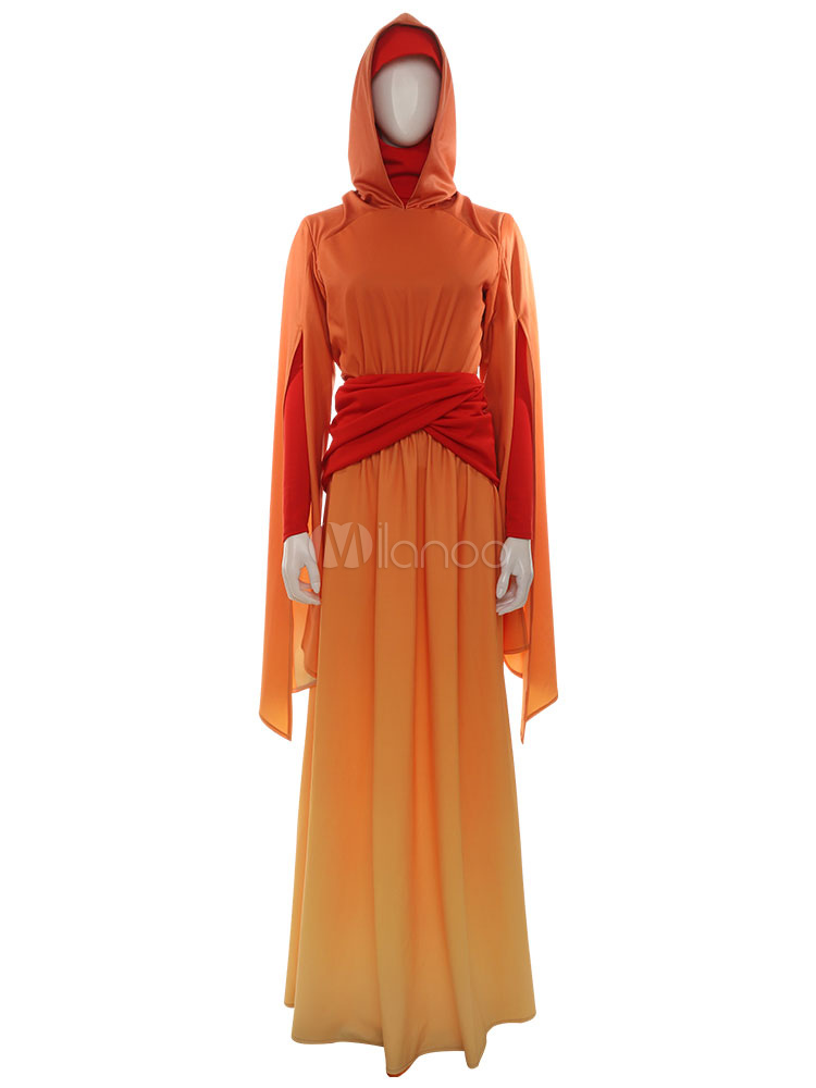 Star Wars Episode 1 The Phantom Menace Padme Handmaiden Padme Amidala Cosplay Costume Milanoo Com