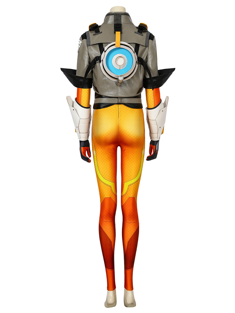 Overwatch 2 Tracer Lena Oxton Cosplay Costume Carnival Deluxe Edition Milanoo Com