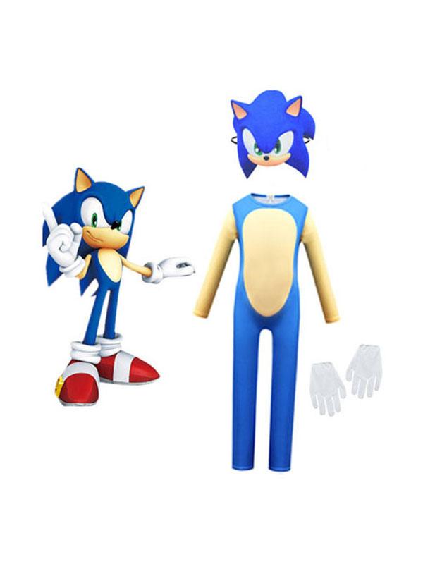Sonic The Hedgehog Sonic Halloween Cosplay Costume Milanoo Com