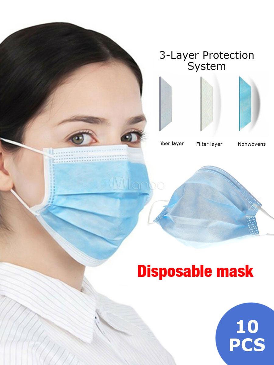 10 db 3-rétegű maszk (A Ft ár tájékoztató jellegű)