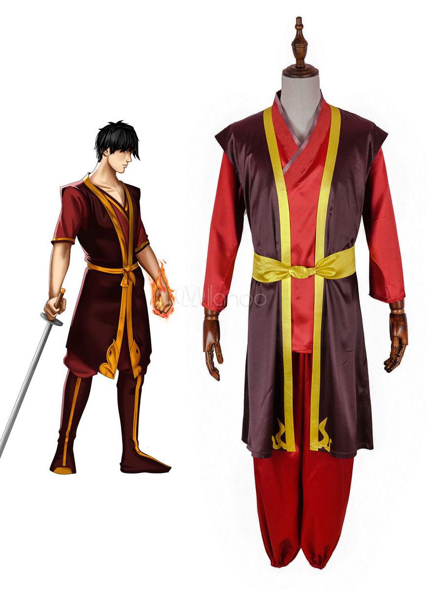 Avatar The Last Airbender Zuko Cosplay Costume - Milanoo.com