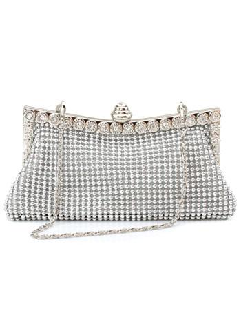 Multicolor Sequins Glitter Chain Wedding Handbag for Women
