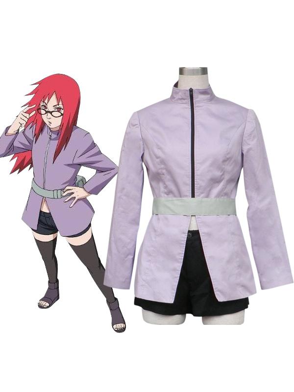 Naruto Karin Anime Cosplay Costume Halloween
