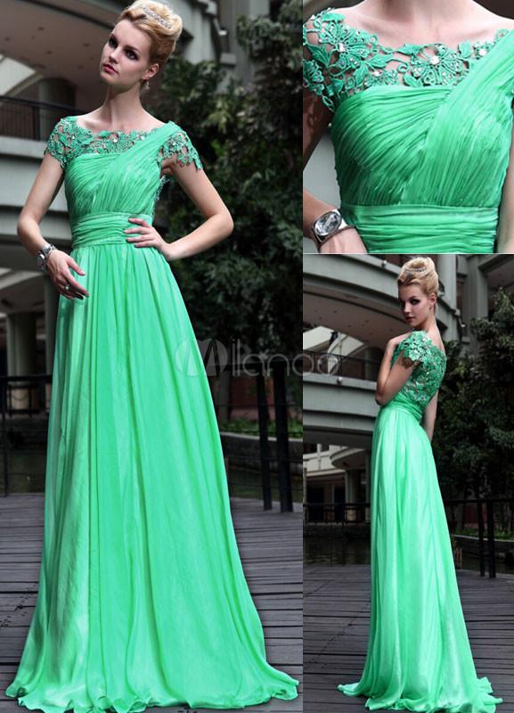 Vestidos verdes claros