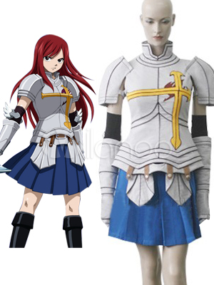 Fairy Tail Elza Scarlet Cosplay Costume Halloween
