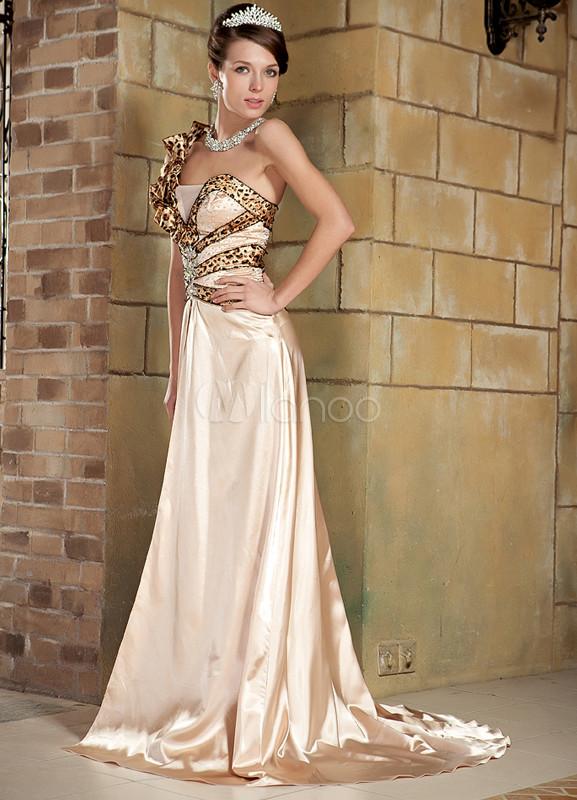 buy popular 6d998 37835 Vestiti da cerimonia color oro – Abiti in pizzo