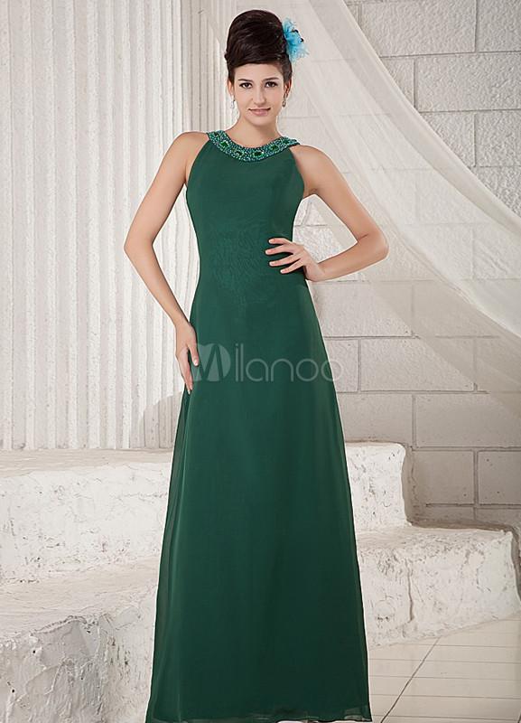 Vestidos de fiesta en color verde