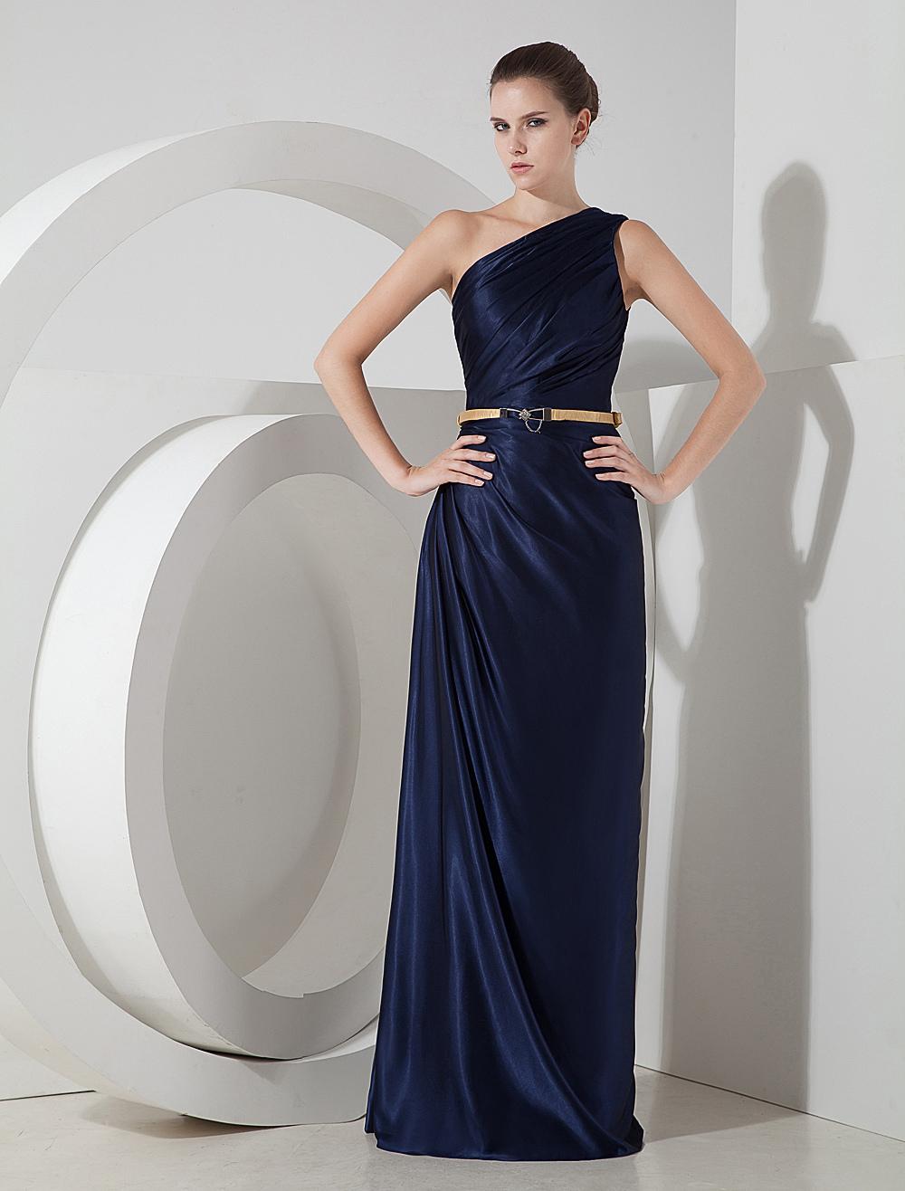 832ac3352 Vestidos de noche color azul pavo – Vestidos hermosos y de moda 2018