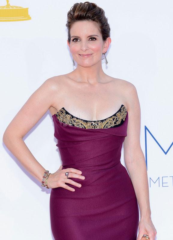 Vestido de Premios Emmy de seda elástica de color de uva sin ...
