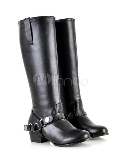 botas altas mujer planas