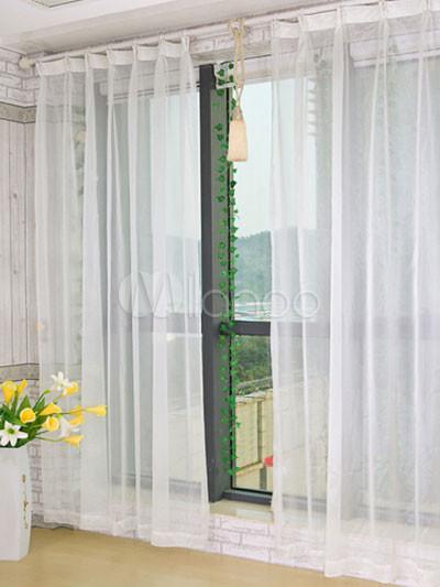 Rideau transparent polyester superbe - Milanoo.com