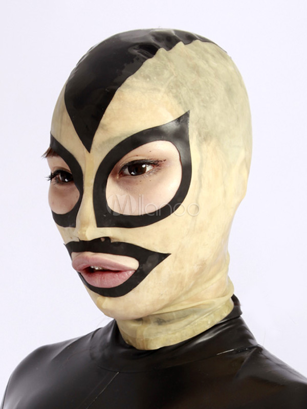 Halloween Color Blocking Unisex Catsuits & Zentai Hood Halloween