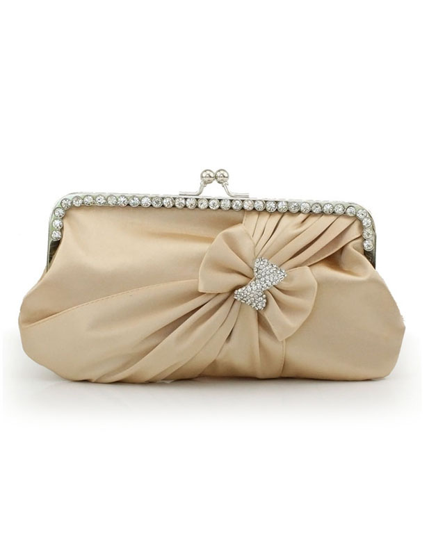 Buy Grace Crystal Silk Evening Bag for Woman for $20.39 in Milanoo store