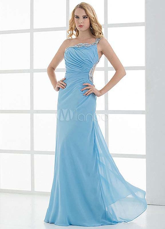b99e1fbd5 Vestidos de noche color azul cielo – Vestidos de noche