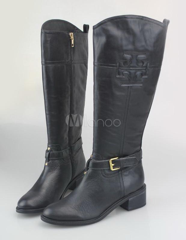 Stivali Zipper Per Equitazione Donna Vacchetta Fibbia SnxWwgadx