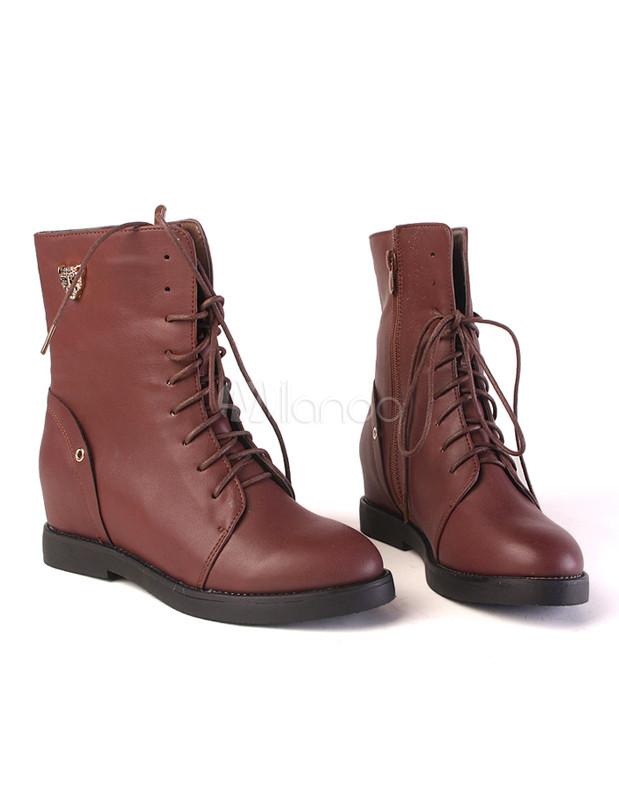 Style Militaire Des Chaussures Des Femmes VFFKDjLEN6