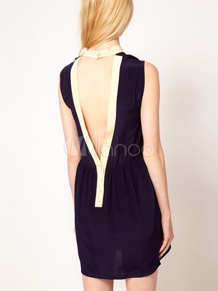 7f8d7594578 Robe droite noire decollete dos – Site de mode populaire