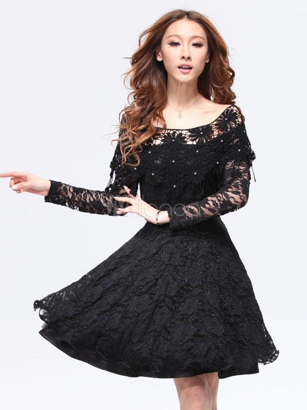 پیراهن لمه کوتاه مدل لباس - مدل لباس مجلسی کره ای