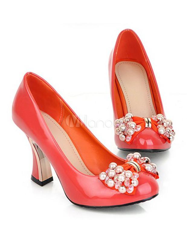 Zapatos Tacón cubano para mujer jEod2Mb