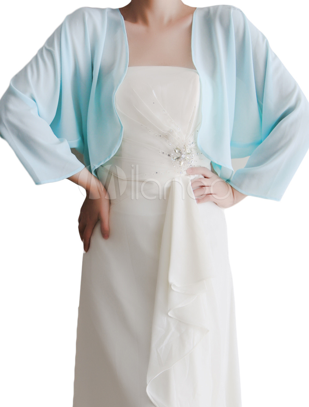 Romantic Chiffon Fashion Wedding Wrap
