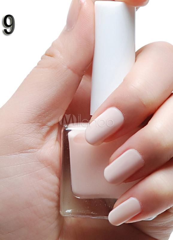 Bien connu Vernis à ongle tendance 12ml couleur peau mat - Milanoo.com WS03