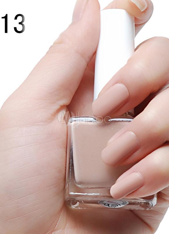 Super Vernis à ongle 12ml couleur peau mat - Milanoo.com BE01