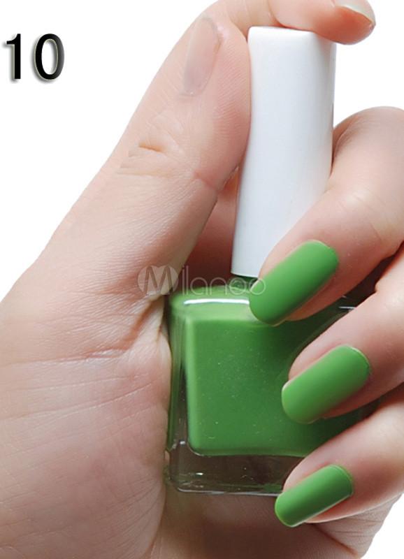 Moda de 12ML verde mate esmalte de uñas - Milanoo.com