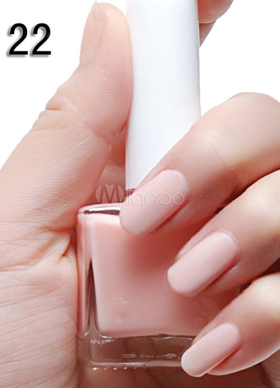 Sweet Light Pink 12ML Chic Matte Nail Polish - Milanoo.com