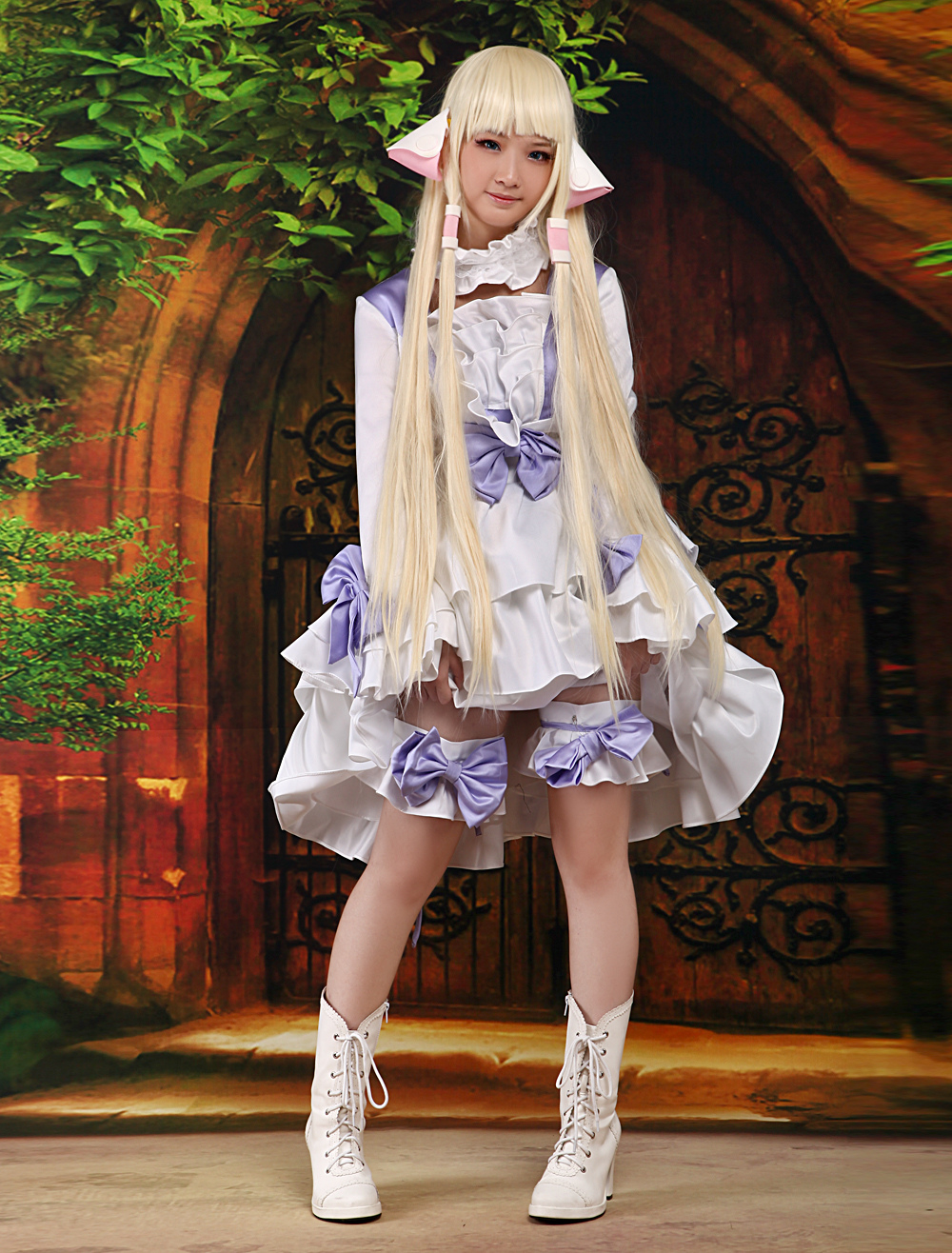 Buy Chobits Chii Halloween Cosplay Costume Sweet Lolita Dress Halloween for $114.99 in Milanoo store
