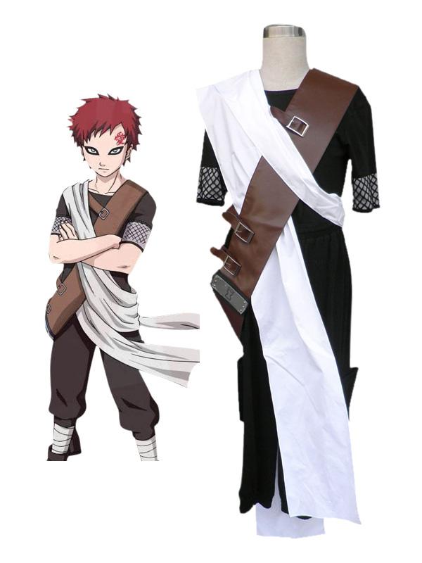 Naruto Sabakuno Gaara Cosplay Costume Halloween