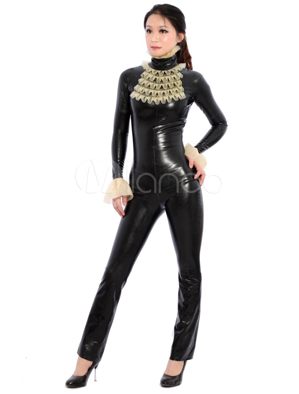 Fantastic Multi Color Without Hood Unisex Latex Bodysuit