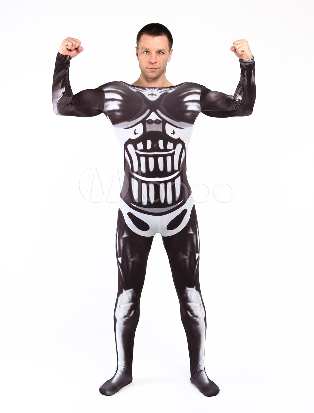 Buy Muscle Fighter Unisex Lycra Spandex Stylish Multicolor Zentai Suits Halloween cosplay costume Halloween for $58.89 in Milanoo store