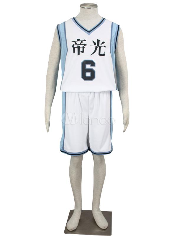 Buy Kuroko No Basketball Aomine Daiki Cosplay Costume Halloween for $25.99 in Milanoo store