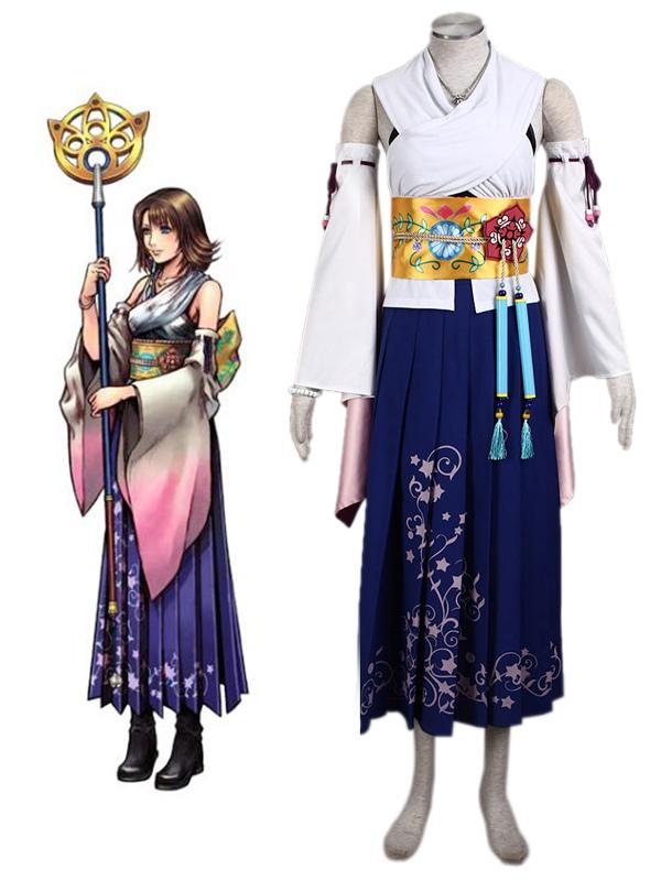 final fantasy yuna halloween cosplay costume halloween no1