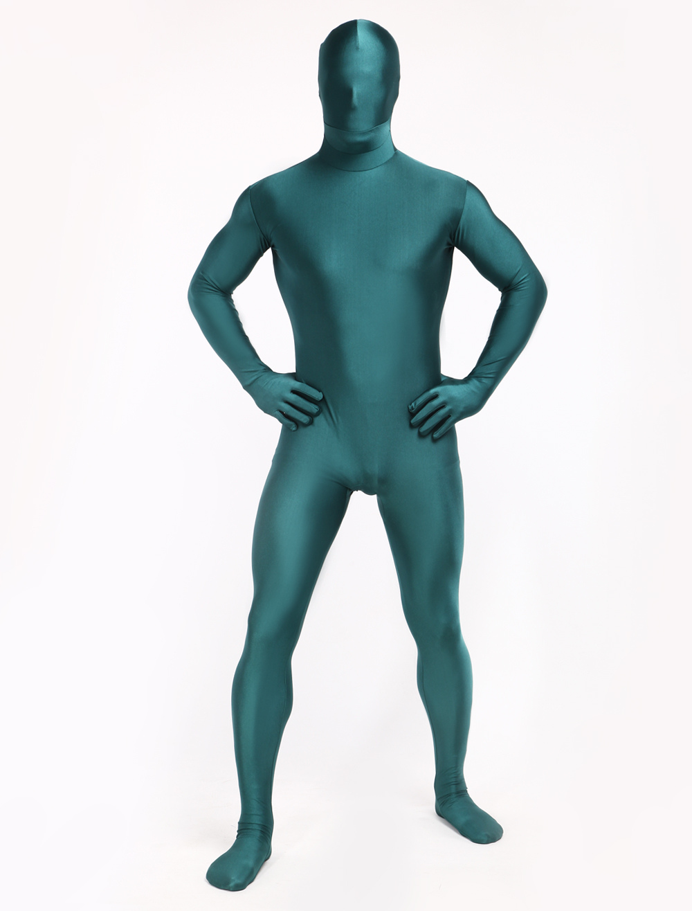 Buy St Patricks Day Costume Green Zentai Unisex Full Body Lycra Spandex Morphsuits Halloween for $22.49 in Milanoo store