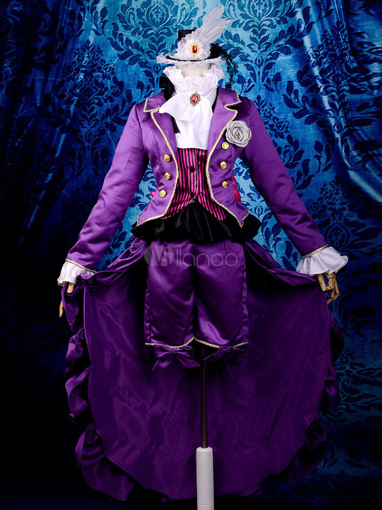 Black Butler Kuroshitsuji Alois Trancy Halloween Cosplay Costume   Halloween