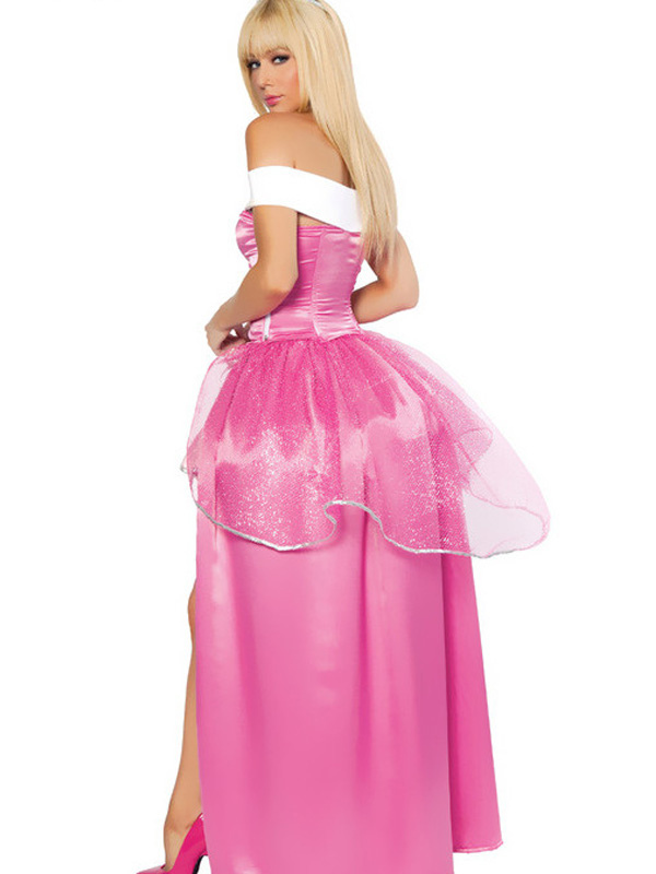 ... Sleeping Beauty Halloween Costume Sexy Pink Fairytale Princess Costume Cosplay Halloween-No.2  sc 1 st  Milanoo.com & Sleeping Beauty Halloween Costume Sexy Pink Fairytale Princess ...