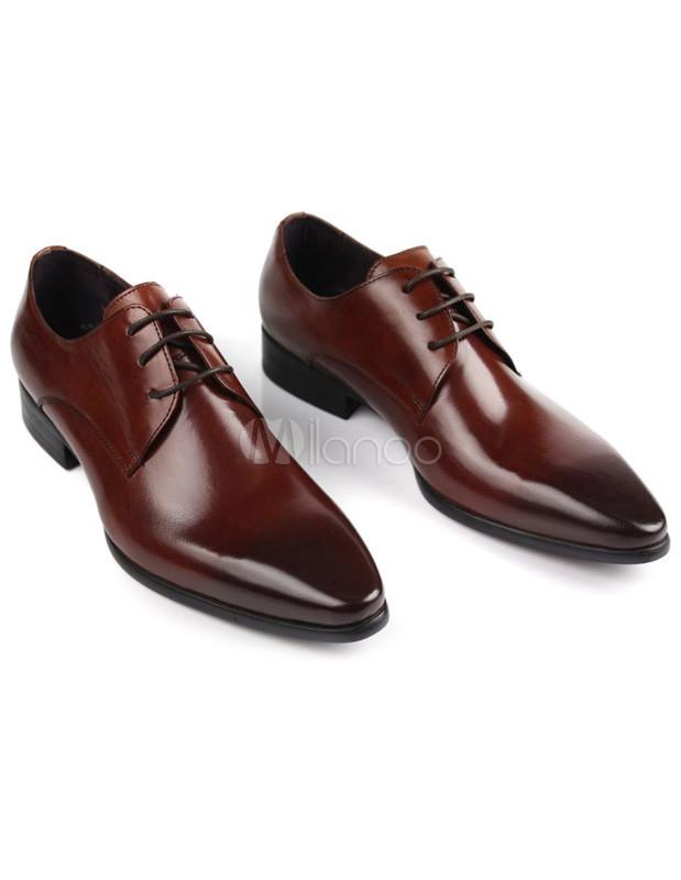 Zapatos marrones de punta redonda casual para mujer CnIK3CCgLs
